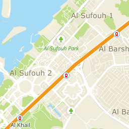 Eat out, metro Sharaf DG, UAE on the map: ☎ phones, ⚑ directions